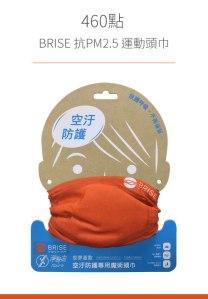 PM 2.5 頭巾